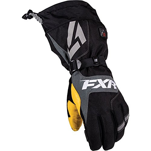 FXR Men's Heated Recon Gloves / Black / XX-Large by FXR