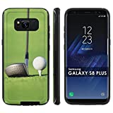"Galaxy S8Plus Slim Case [Mobiflare] [Black/Black] Shell Shock Phone Case [Screen Protector] - [Golf Drive] for Samsung Galaxy S8+ [6.2 "" Screen Size]"