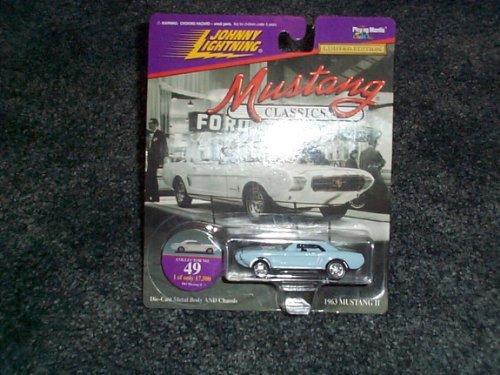 Johnny Lightning 1997 Mustang Classics 1963 Mustang II collector #49 by Johnny (Johnny Lightning Collector)