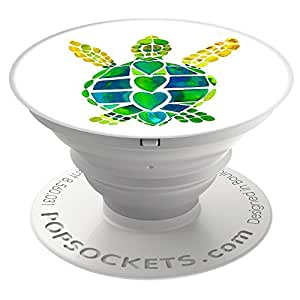 PopSockets: Collapsible Grip & Stand for Phones and Tablets - Turtle Love