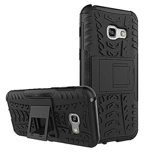 LAPINETTE Funda Carcasa Antigolpes para Samsung Galaxy A5 2017 - Negro
