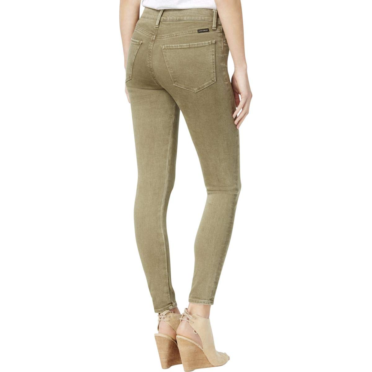 Lucky Brand Womens Brooke Legging Jean in Mojave Valley