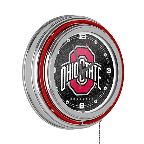 The Ohio State University Neon Clock - 14 inch - Inch 14 Clock Diameter