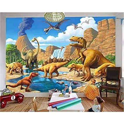 Fantasy Murale Personnalisé Peint Lake Etagere Papier VUpqzSM