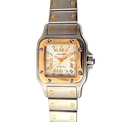 Cartier Santos swiss-automatic womens Watch 2423 (Certified Pre-owned)
