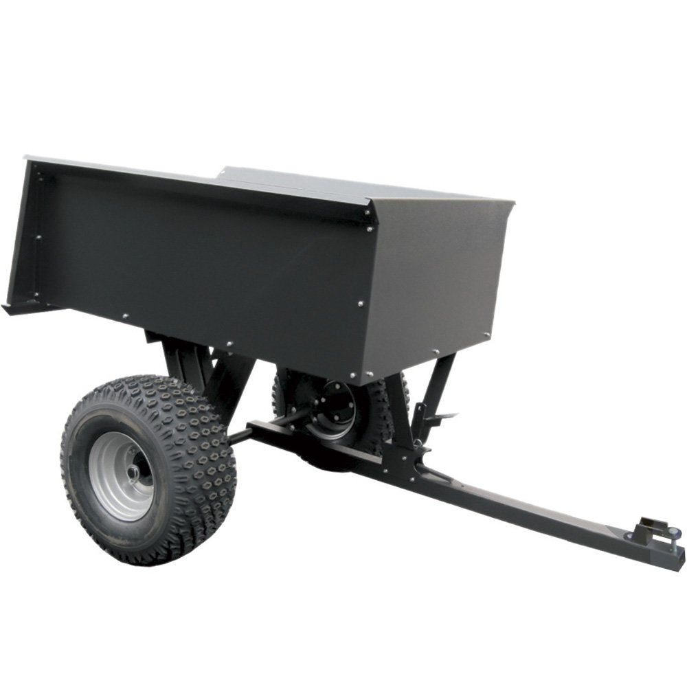 Remorque / Brouette Basculante 200 kg pour tracteur tondeuse ...