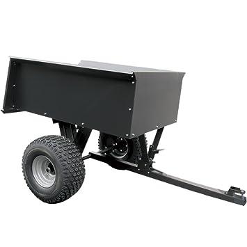 remorque basculante en acier pour quad ATV avec boule d\'attelage ...
