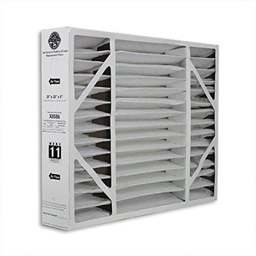 20x25x5 (19.75x24.5x4.38) Lennox® OEM MERV 11 BMAC-20C Replacement Filter