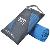 Rainleaf Microfiber Towel,Perfect Sports & Travel &Beach...