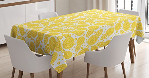 Tablecloth Ambesonne African Pineapple Rectangular product image