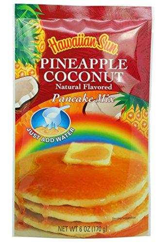 Hawaiian Sun 5 Pack Assorted Pancake Mix: Chocolate Mac, Passion Fruit, Banana Mac Nut, Coconut Pineapple. by Hawaiian Sun (Image #3)