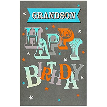American Greetings Awesome Birthday Card For Grandson With Foil