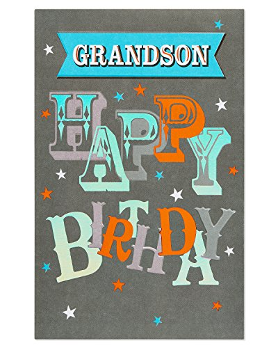 American Greetings Birthday Card for Grandson (Awesome)