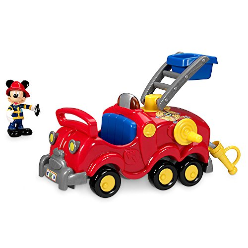 Disney Mickey Mouse Fire and Rescue Toy (Fireman Mickey Mouse)