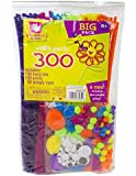 Creative Hands by Fibre-Craft - 300-Piece Assorted Sm'ART Parts - Arts and Crafts - No Scissors or Glue Required - For Ages 3 and Up