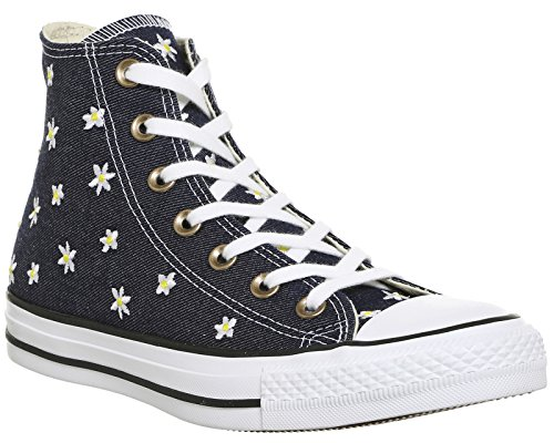 Yellow fresh Sneaker white Donna A Collo Blu Converse Alto navy Ctas Hi ZzxqBBwPvS