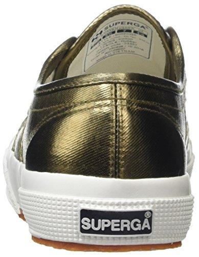 Delle Sneaker bronzo top Superga A Donne Cotmetu 2750 Oro Basso wEUZqv6