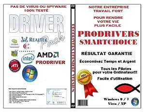 Lenovo 276584G, DVD de réparation et restauration de Pilotes (DRIVERS), DVD contenant tous les pilotes pour l'audio,vidéo, chipset, Wi-Fi, USB et +, (Dernière version) Tous les Windows!!!