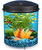 API Aquaview 360 Aquarium Kit with LED Lighting and Internal Filter, 2-Gallon