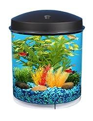 Aquaview 360 2 Gallon Aquarium with LED Lighting and Internal...