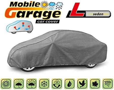Vollgarage Ganzgarage Mobile L Sedan kompatibel mit BMW 3er E46 Schutzplane Abdeckung