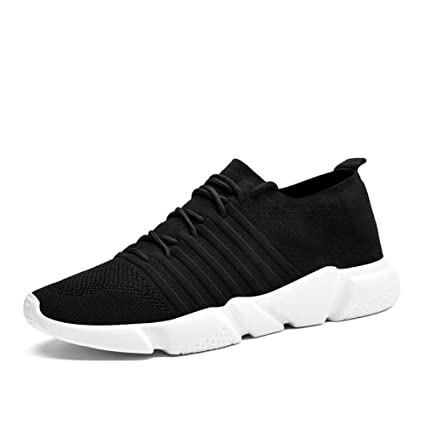 8f067fc1dd9b9 Amazon.com : WUYIXIAO ShoesBrand Men Sneakers Lightweight Mesh Adult  Comfort 2019 Spring New Male Casual Shoes Breathable Lace Up Krasovki for  Men : Sports ...