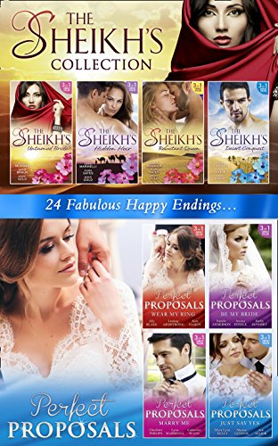 The Sheikhs And Perfect Proposals Collections By Ally Blake Jackie