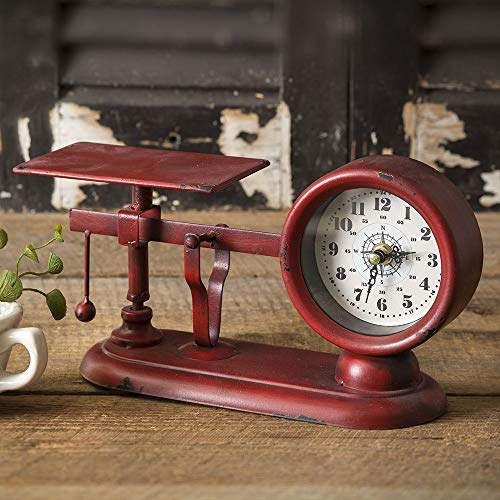 CTW Home Collection Balance Scale Clock ()