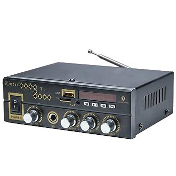 DollaTek Kinter T1 Hi-Fi Karaoke Amplificador de Audio estéreo ...