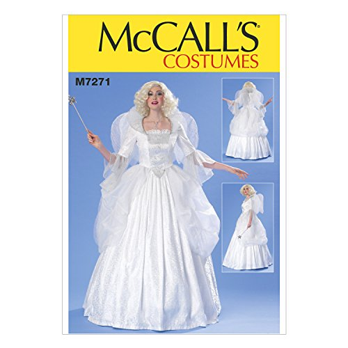 McCall's M7271 Women's Fairy Godmother Costume Sewing Pattern, Sizes ()
