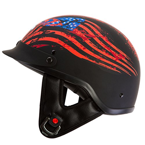 Motorcycle Beanie Half Helmet (IV2