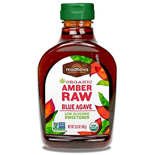 Madhava Organic Agave Nectar Amber product image