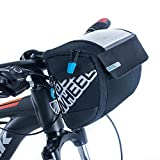 Roswheel 111271 Bike Handlebar Bag Front Bicycle Bag Bike Handlebar Pack