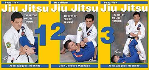 3 DVD SET Brazilian Jiu Jitsu Best On-Line Training grappling secrets