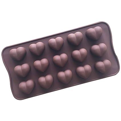 Muffin moldes 20.6 * 10.3 * 1.8cm moldes de silicona pastel de postre taza pastel