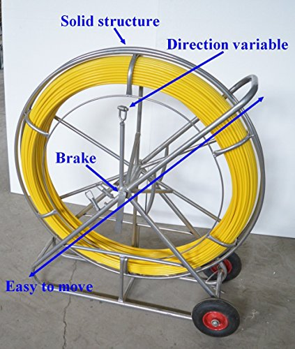 TOOLS Fish Tape Fiberglass Wire Cable Running Rod Duct Ro...