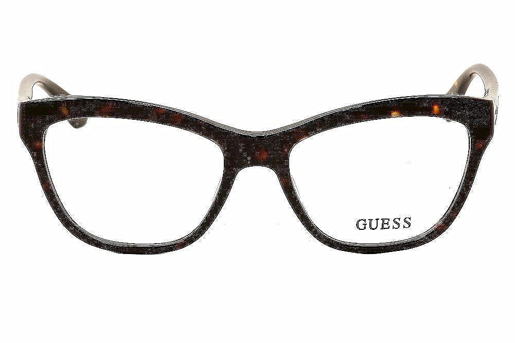 cdf6a921e74 Guess Women s Eyeglasses GU2463 GU 2463 TO Tortoise Full Rim Optical Frame  53mm at Amazon Men s Clothing store