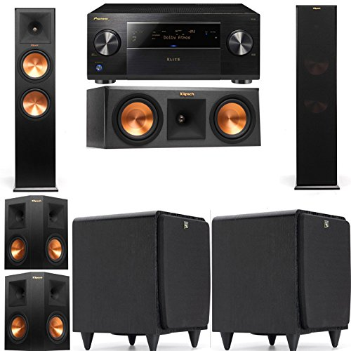 Klipsch RP-280F Tower Speakers-RP-250C-SDS12 -5.2-...