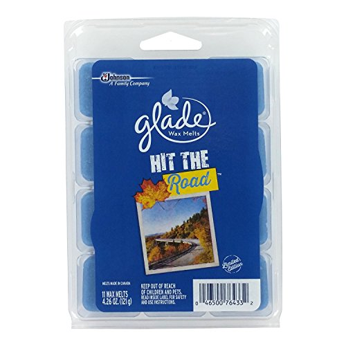 Glade Wax Melts 2015 Fall Limited Edition Hit The Road, 4.26 oz, 11 Melts