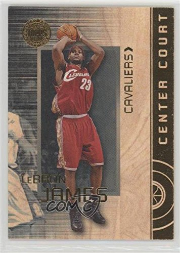 LeBron James #3/10 LeBron James (Basketball Card) 2005-06 Topps First Row - Center Court - Gold #CC12