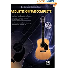 Ultimate Beginner Series: Acoustic Guitar Complete (Book & DVD (Hard Case)) (The Ultimate Beginner Series)