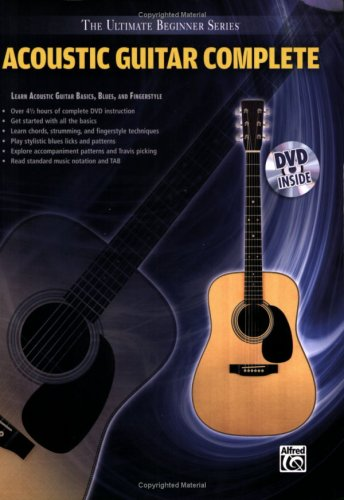 Complete Acoustic Guitar Dvd - 4