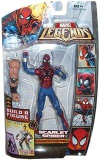 Marvel Legends Exclusive Red Hulk Buildafigure Wave Action Figure Black Sui... Action- & Spielfiguren