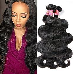 Mscove Brazilian Body Wave 3 Bundles 10 12 14 inch 100% Vingin Human Hair Bundles Brazilian Weave Hair Human Bundles Body Wave Natural Color