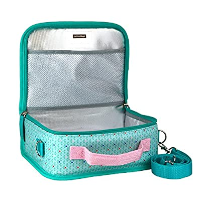 Petit Collage Insulated Lunch Box, Woodland : Baby