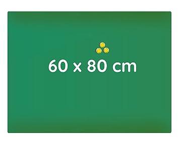 3 Magnete Montagematerial Tafel Edelstahl Magnet Magnettafel 40 x 60 cm inkl