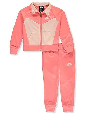 Nike Girls 2-Piece Tracksuit Pants Set: Amazon.es: Ropa y accesorios