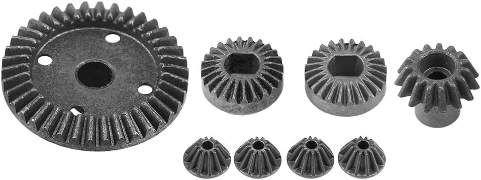 8 PCS Upgrade Teile Metall Differential Gears für Wltoys A949 979 1//18 RC Auto