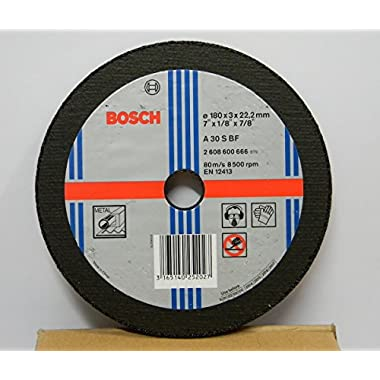 Bosch AG7 Metal 7-inch Cut Off Wheel Set (Multicolor, Pack of 5) 5