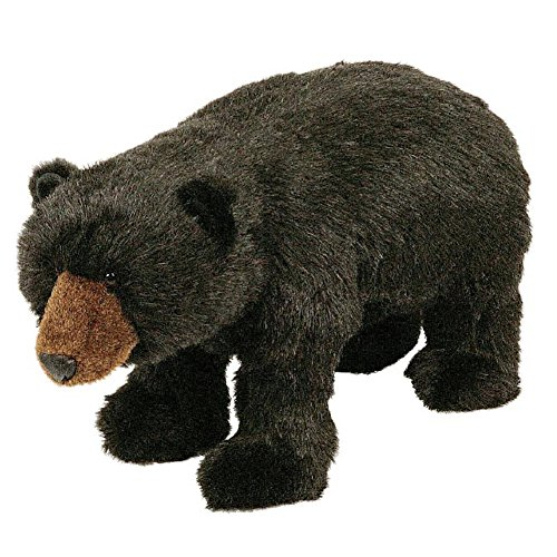 Black Bear Footstool (Orvis Bear Footrest, Black)